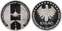 Deutschland : 10 Euro 100 Jahre Internationale Luftfahrtausstellung (ILA) in Originalkapsel  2009 PP 10 Euro Luftfahrtausstellung