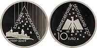 Deutschland : 10 Euro 100 Jahre Deutsches Jugendherbergswerk (DJH)  2009 PP 10 Euro Jugendherbergswerk