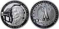 Deutschland : 10 Euro 200. Geburtstag Franz Liszt  2011 PP