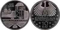 Deutschland : 10 Euro 100 Jahre Hamburger Elbtunnel  2011 Stgl.