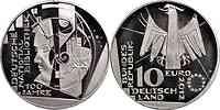 Deutschland : 10 Euro 100 Jahre Deutsche Nationalbibliothek  2012 Stgl.