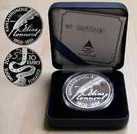 Finnland : 10 Euro Lönnrot, inkl. Etui + Zertifikat  2002 PP