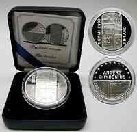 Finnland : 10 Euro Anders Chydenius inkl. Originaletui und Zertifikat  2003 PP