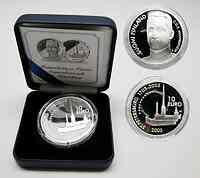 Finnland : 10 Euro Mannerheim / St. Petersburg, inkl. Originaletui und Zertifikat  2003 PP