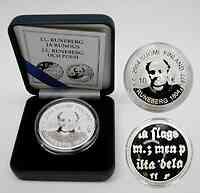 Finnland : 10 Euro Runeberg inkl. Originaletui und Zertifikat  2004 PP
