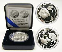 Finnland : 10 Euro Moomin / Tove Jansson inkl. Originaletui und Zertifikat 2004 PP
