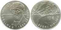 Finnland 10 Euro J.V. Snellmann 2006 Stgl.