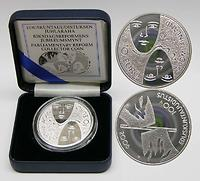 Finnland : 10 Euro Parlamentsreform inkl. Originaletui und Zertifikat  2006 PP 10 Euro Parlamentsreform PP; Finnland