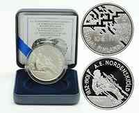 Finnland : 10 Euro A. E. Nordenskiöld inkl. Originaletui und Zertifikat  2007 PP 10 Euro Europastern Serie Finnland 2007