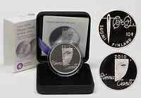Finnland : 10 Euro Große finnische Frauen Minna Canth inkl. Originaletui und Zertifikat  2010 PP 10 Euro Finnische Frauen 2010 PP Minna Canth