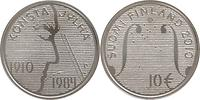 Finnland : 10 Euro Konsta Jylhä in Originalkapsel mit Zertifikat  2010 Stgl.