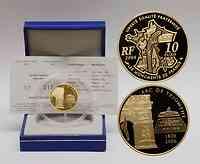 Frankreich : 10 Euro Arc de Triomphe inkl. Originaletui und Zertifikat  2006 PP 10 Euro Arc de Triomphe; 10 Euro Triumpfbogen 2006