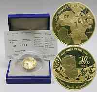 Frankreich : 10 Euro 5 Wochen im Ballon inkl. Originaletui und Zertifikat  2006 PP 10 Euro Ballon 2006, 10 Euro Frankreich Gold