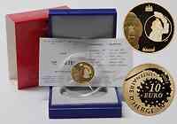 Frankreich 10 Euro Tim und Struppi 2007 PP GOLD