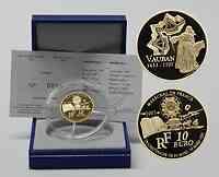 Frankreich : 10 Euro Marquis de Vauban inkl. Originaletui und Zertifikat  2007 PP 10 Euro Europa-Stern