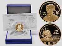 Frankreich : 10 Euro La Fayette inkl. Originaletui und Zertifikat  2007 PP