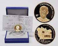 Frankreich : 10 Euro Christian Dior inkl. Originaletui und Zertifikat  2007 PP