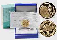 Frankreich : 10 Euro Jahr der Ratte inkl. Originaletui und Zertifikat  2008 PP
