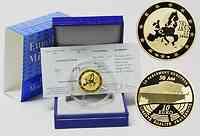 Frankreich : 10 Euro 50 Jahre Europäisches Parlament in Strasbourg inkl. Originaletui und Zertifikat  2008 PP