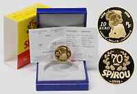 Frankreich : 10 Euro 70 Jahre Spirou inkl. Originaletui und Zertifikat  2008 PP 10 Euro Spirou 2008