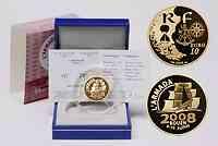 Frankreich : 10 Euro Armada inkl. Originaletui und Zertifikat  2008 PP 10 Euro Armada 2008