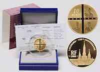 Frankreich : 10 Euro Lourdes inkl. Originaletui und Zertifikat  2008 PP 10 Euro Lourdes