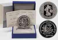 Frankreich : 10 Euro 50. Geburtstag des neuen Francs 1960 inkl. Originaletui und Zertifikat  2010 PP