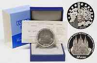 Frankreich : 10 Euro Abtei Cluny inkl. Originaletui und Zertifikat  2010 PP