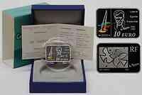 Frankreich : 10 Euro Georges Braque farbig inkl. Originaletui und Zertifikat  2010 PP