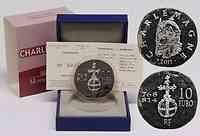 Frankreich : 10 Euro Karl der Große  2011 Stgl. Charlemagne
