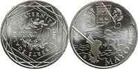 Frankreich : 10 Euro Mayotte aus der Regionen-Serie  2011 Stgl.