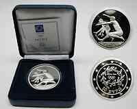 Griechenland : 10 Euro Ausgabe III. : Weitspringer  2003 PP