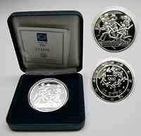 Griechenland : 10 Euro Ausgabe V. : Staffelläufer  2003 PP