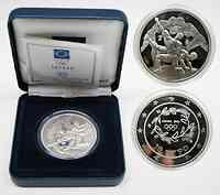 Griechenland 10 Euro Ausgabe V. : Ringen 2004 PP