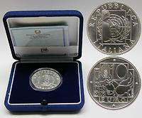 Italien : 10 Euro 60 Jahre UNO inkl. Originaletui und Zertifikat  2005 Stgl. 10 Euro Uno, 10 Euro Italien 2005