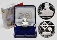 Italien : 10 Euro 100 Jahre Nobelpreis Guglielmo Marconi inkl. Originaletui und Zertifikat  2009 PP