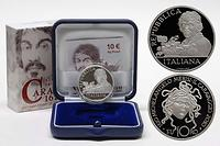 Italien : 10 Euro Medusa  2010 PP 10 Euro Carravaggio 2010 PP