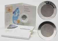 Luxemburg : 10 Euro 25 Jahre Schengener Abkommen im Originalblister  2010 PP