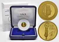 Luxemburg : 10 Euro Freiheitsstatue Golden Lady / Gelle Fra  2013 PP