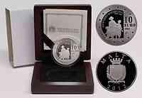 Malta : 10 Euro Antonio Sciortino  2012 PP