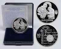 Slowakei : 10 Euro Zobor Urkunden 900. Jahrestag  2011 PP