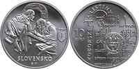 Slowakei : 10 Euro Zobor Urkunden 900. Jahrestag  2011 Stgl.