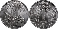 Slowakei : 10 Euro Memorandum  2011 Stgl.