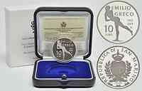 San Marino : 10 Euro 100. Jahrestag der Geburt Emilio Grecos  2013 PP