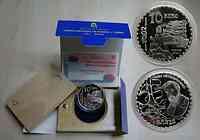 Spanien : 10 Euro 3. Parque Guell inkl. Zertifikat und Originalholzkassette 2002 PP