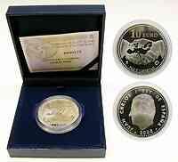 Spanien 10 Euro Freiheit und Frieden 2005 PP