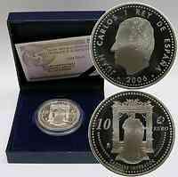 Spanien : 10 Euro Kaiser Karl V. inkl. Originaletui und Zertifikat 2006 PP