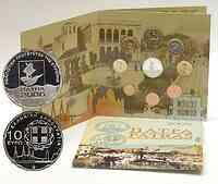 Griechenland : 13,88 Euro original Kursmünzensatz der griechischen Münze in bankfrischer Qualität + 10 Euro Gedenkmünze in polierter Platte  2006 PP