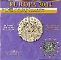 Frankreich 1/4 Euro Europa-Münze in Blister 2004