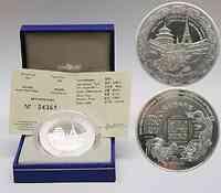 Frankreich : 1/4 Euro China-Ausgabe inkl. Originaletui und Zertifikat  2004 Stgl. 1/4 Euro China 2004; Frankreich